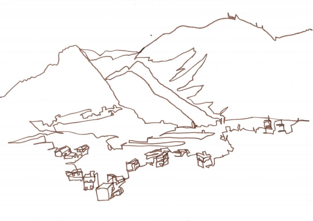 Landschaft auf Teneriffa